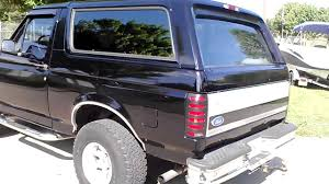 bronco car 1996 1996 ford bronco 4x4 black and slick youtube