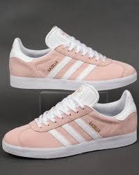 light pink mens shoes adidas gazelle trainers vapour pink white originals shoes mens sneaker