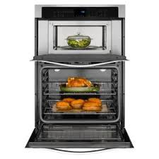 Built In Wall Toaster Whirlpool 27 In Electric Wall Oven With Built In Microwave In