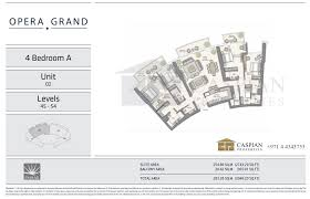 opera grand in dubai floor plans