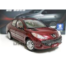 peugeot malta 1 18 scale peugeot 207 red diecast toy car model ebay
