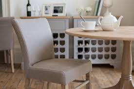 Linen Dining Chair Neptune Miller Linen Dining Chair