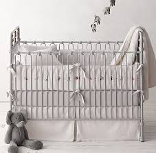Restoration Hardware Crib Bedding Embroidered Vintage Circus Nursery Bedding Collection Baby Boy