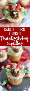 corn turkey thanksgiving cupcakes the crafting