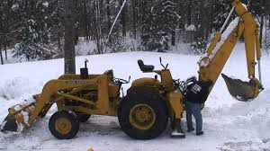 1970 john deere jd400 tractor loader backhoe youtube