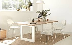 luxa rectangle dining table totem road