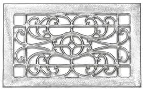 Decorative wall vent covers wrought iron sweet icon – danburryhardware