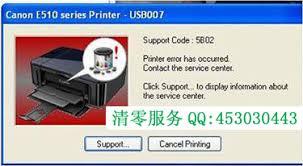 reset tool for ip1880 canon printer reset 5b00 5b01 p07 p08 e07 e08