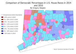 2014 Election Map by Maps And Analysis Of 2014 Congressional Elections In Connecticut