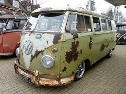 vw volkswagen van vw split window rusty rat bus the volkswagen type 2 als u2026 flickr