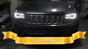 2014 Jeep Grand Cherokee Headlight Swap 100 Working Halogen To