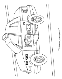 police car free coloring pages for kids printable colouring sheets