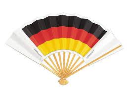 japanese folding fan sensu japanese traditional handheld folding fan german flag
