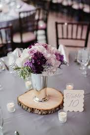 Flower Centerpieces For Wedding - best 25 purple wedding centerpieces ideas on pinterest purple