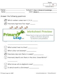 fillable online week 1 primary leap worksheets one of our year