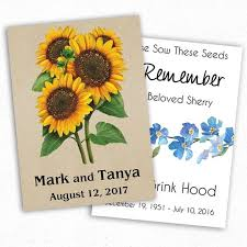 custom seed packets seed packet favors seed needs