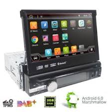 android mp3 player android 6 0 wifi 1din 7 car gps nav stereo dvd mp3 player bt fm
