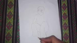 tutorial menggambar orang dengan pensil cara menggambar orang youtube