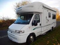 used campervans and motorhomes for sale in mansfield