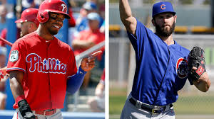 nick williams talks up phillies to free agent pitcher jake arrieta
