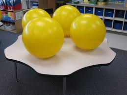 Pilates Ball Chair Size by New Adventures In First Grade Stability Ball Chairs