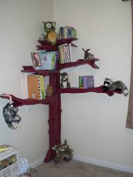 a squared how to make a tree bookshelf