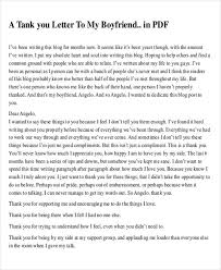 sle thank you letter to my boyfriend 5 exles in word pdf
