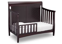Convertible Sleigh Bed Crib Bennington Elite Sleigh 4 In 1 Convertible Crib Delta Children