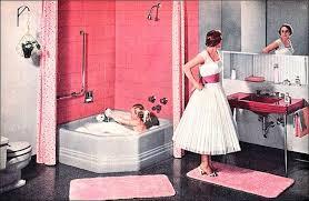 classy retro pink bathroom ideas decorating inspiration of design