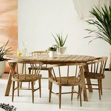 patio table with 4 chairs dexter outdoor dining set table 4 chairs west elm
