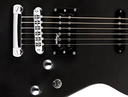 elektro gitar matthew bellamy signature guitar metalik siyah