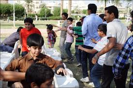 kuwait indian muslim welfare association holds eid milan family
