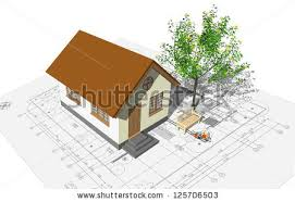 Drawing Of A House With Garage Set Drawing Houses Flat Design Vector Stock Vector 241832911
