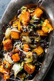 roasted butternut squash radicchio and recipe