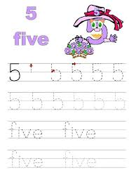 numbers tracing worksheets for preschool funnycrafts