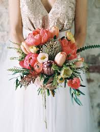 Popular Bridal Bouquet Flowers - our favorite bouquets from 2016 tulip bouquet peony and peonies