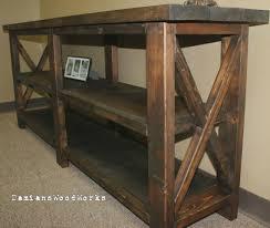 sofa long table wonderful 6 foot diy pertaining to idea 15