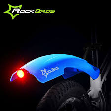bicycle rear fender light rockbros 1 pair of mountain bicycle front rear fenders mudguards