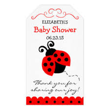 ladybug baby shower favors ladybug baby shower gifts on zazzle