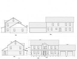 House Plans With Elevations And Floor Plans Marvelous House Plans Elevation Floor Plan North Arrow Model