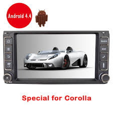toyota corolla official website eincar online android 4 4 7 inch autoradio capacitive