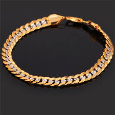 gold tone bracelet images Kpop charm bracelet two tone jewelry fashion style high quality jpg