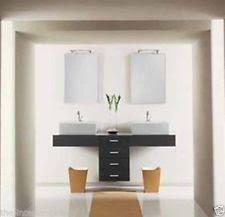 59 Double Sink Bathroom Vanity by Dcor Design Leola 59