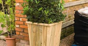 Self Watering Patio Planters by Plant Outdoor Flower Container Ideas Stunning Tall Outdoor