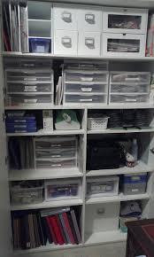 Craft Studio Ideas by Scrapbook Storage Cabinet Storage Pinterest Scrapbook