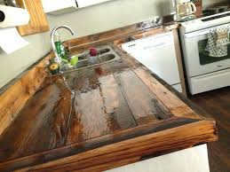 wood kitchen island top diy wood plank kitchen counter best pallet ideas on rustic