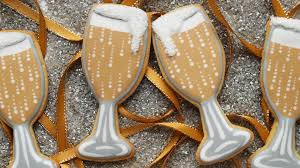 new years chagne glasses how to decorate chagne glass cookies for new year s