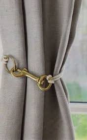 Hanging Curtain Tie Backs Hang Curtains From The Ceiling To Avoid Measuring Also Makes