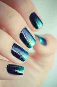 80 attractive glitters nail arts to try once