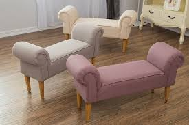 Armchair Chaise Lounge Fancy Armchair Chaise Lounge Details About Fabric Bench Chaise